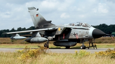 Photo ID 108244 by Carl Brent. Germany Air Force Panavia Tornado IDS, 45 91