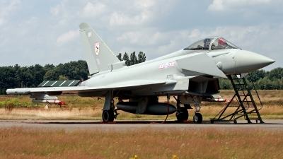 Photo ID 108154 by Carl Brent. UK Air Force Eurofighter EF 2000 Typhoon F2, ZJ910
