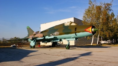 Photo ID 108418 by Lukas Kinneswenger. Bulgaria Air Force Sukhoi Su 22M4 Fitter K, 818