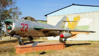 Photo ID 108417 by Lukas Kinneswenger. Bulgaria Air Force Mikoyan Gurevich MiG 17PF, 22