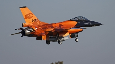 Photo ID 109035 by Niels Roman / VORTEX-images. Netherlands Air Force General Dynamics F 16AM Fighting Falcon, J 015