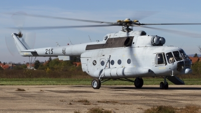Photo ID 108767 by Chris Lofting. Croatia Air Force Mil Mi 8MTV 1, 215