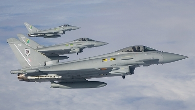 Photo ID 14025 by Sean Wilson - Prime Images. UK Air Force Eurofighter EF 2000 Typhoon F2, ZJ924