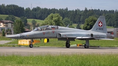 Photo ID 109108 by Andreas Weber. Switzerland Air Force Northrop F 5F Tiger II, J 3201