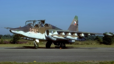 Photo ID 109068 by Rainer Mueller. Czechoslovakia Air Force Sukhoi Su 25UBK, 3237