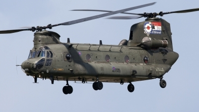Photo ID 109249 by Niels Roman / VORTEX-images. UK Air Force Boeing Vertol Chinook HC2, ZA714