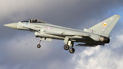 Photo ID 109353 by Chris Lofting. UK Air Force Eurofighter EF 2000 Typhoon FGR4, ZK329