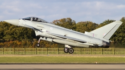 Photo ID 109366 by Chris Lofting. UK Air Force Eurofighter EF 2000 Typhoon FGR4, ZK335