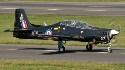 Photo ID 14129 by David Townsend. UK Air Force Short Tucano T1, ZF317