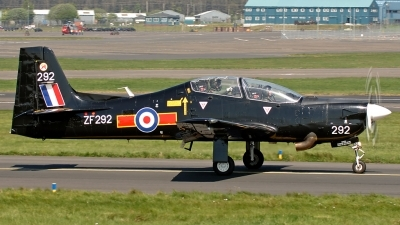 Photo ID 14146 by David Townsend. UK Air Force Short Tucano T1, ZF292