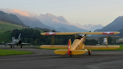 Photo ID 109846 by Martin Thoeni - Powerplanes. Private Private Bucker Bu 131B Jungmann, HB UUE