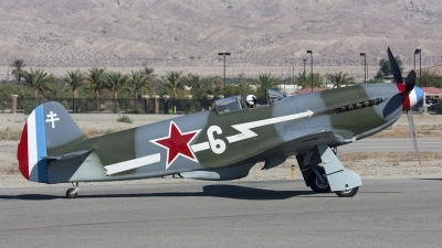 Photo ID 109594 by Nathan Havercroft. Private Planes of Fame Air Museum Yakovlev Yak 3UA, N130AM