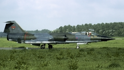 Photo ID 110035 by Joop de Groot. Canada Air Force Canadair CF 104G Starfighter CL 90, 104713