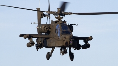 Photo ID 110128 by Niels Roman / VORTEX-images. Netherlands Air Force Boeing AH 64D Apache, Q 26