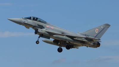 Photo ID 110124 by Lukas Kinneswenger. UK Air Force Eurofighter EF 2000 Typhoon FGR4, ZJ928