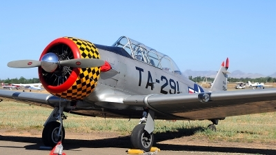 Photo ID 110431 by W.A.Kazior. Private Private North American T 6G Texan, N3518G
