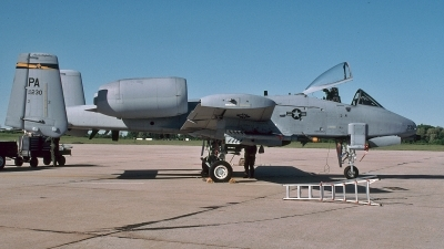 Photo ID 110257 by David F. Brown. USA Air Force Fairchild A 10A Thunderbolt II, 80 0230