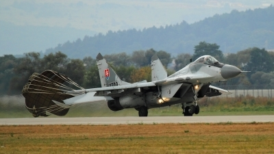 Photo ID 110236 by Agata Maria Weksej. Slovakia Air Force Mikoyan Gurevich MiG 29AS, 3709