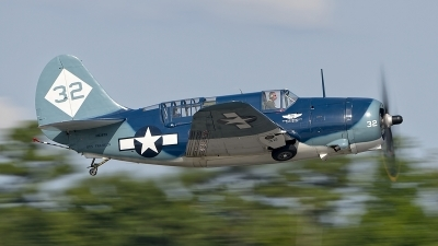 Photo ID 110452 by Dariusz Siusta. Private Commemorative Air Force Curtiss SB2C 5 Helldiver, NX92879
