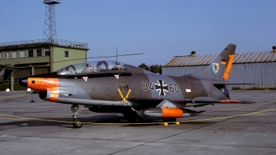 Photo ID 110387 by Alex Staruszkiewicz. Germany Air Force Fiat G 91T3, 34 60