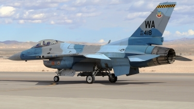 Photo ID 110555 by W.A.Kazior. USA Air Force General Dynamics F 16C Fighting Falcon, 85 1418