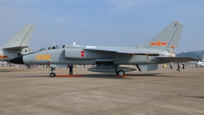 Photo ID 110811 by Peter Terlouw. China Air Force Xian JH 7A Flying Leopard, 31290