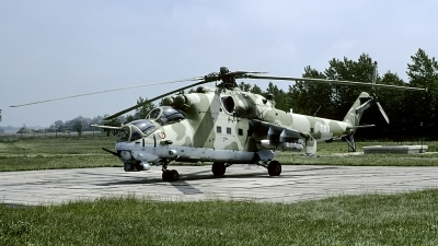 Photo ID 110921 by Joop de Groot. Poland Army Mil Mi 24W, 740