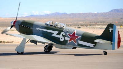 Photo ID 110939 by W.A.Kazior. Private Planes of Fame Air Museum Yakovlev Yak 3UA, N130AM