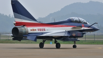 Photo ID 110970 by Peter Terlouw. China Air Force Chengdu J10S, 11