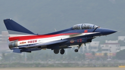 Photo ID 110911 by Peter Terlouw. China Air Force Chengdu J10S, 12