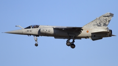 Photo ID 111027 by Chris Lofting. Spain Air Force Dassault Mirage F1M, C 14 56