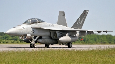 Photo ID 111459 by David F. Brown. USA Navy Boeing F A 18F Super Hornet, 166615
