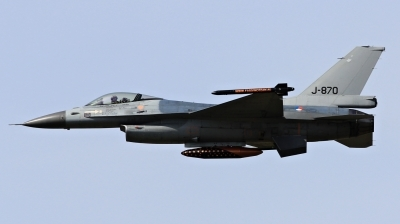 Photo ID 111289 by Milos Ruza. Netherlands Air Force General Dynamics F 16AM Fighting Falcon, J 870