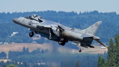 Photo ID 111295 by Russell Hill. USA Marines McDonnell Douglas AV 8B Harrier ll Plus, 165397