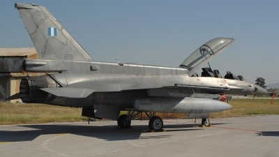 Photo ID 112049 by Peter Boschert. Greece Air Force General Dynamics F 16D Fighting Falcon, 619