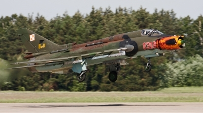 Photo ID 111505 by Jan Suchanek. Poland Air Force Sukhoi Su 22M4 Fitter K, 8308