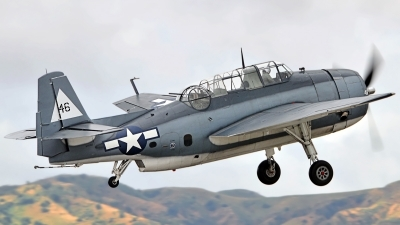 Photo ID 111518 by W.A.Kazior. Private Planes of Fame Air Museum Grumman TBM 3E Avenger, N7835C