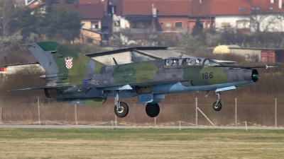 Photo ID 111550 by Chris Lofting. Croatia Air Force Mikoyan Gurevich MiG 21UM, 166