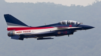 Photo ID 111760 by Andreas Zeitler - Flying-Wings. China Air Force Chengdu J10S, 12