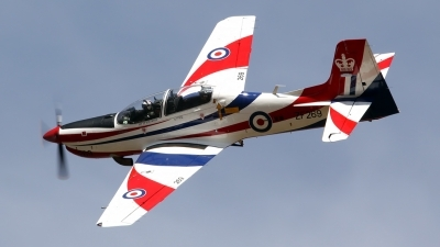 Photo ID 111728 by John Higgins. UK Air Force Short Tucano T1, ZF269