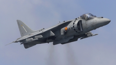 Photo ID 111737 by Richard Sanchez Gibelin. Spain Navy McDonnell Douglas EAV 8B Harrier II Plus, VA 1B 27