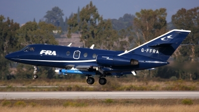 Photo ID 112120 by Kostas D. Pantios. Company Owned FR Aviation Dassault Falcon 20, G FFRA