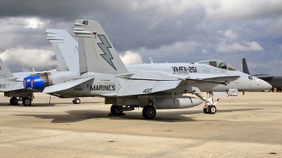 Photo ID 111850 by David F. Brown. USA Marines McDonnell Douglas F A 18C Hornet, 164950
