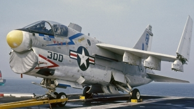 Photo ID 112106 by David F. Brown. USA Navy LTV Aerospace A 7E Corsair II, 158827