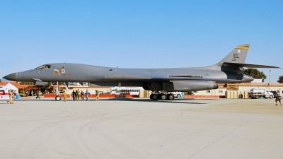Photo ID 112237 by W.A.Kazior. USA Air Force Rockwell B 1B Lancer, 86 0127