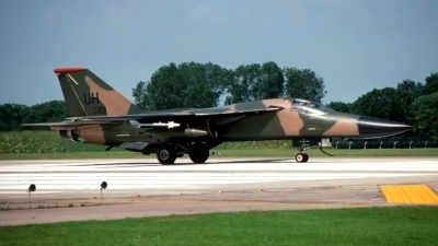 Photo ID 14514 by Richard Parker. USA Air Force General Dynamics F 111E Aardvark, 67 0119