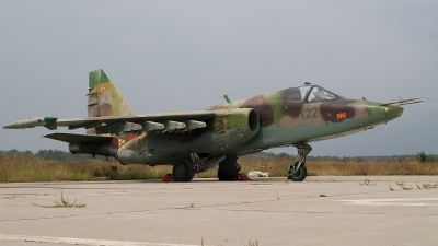 Photo ID 14519 by Frank Noort. Macedonia Air Force Sukhoi Su 25, 125
