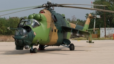 Photo ID 14521 by Frank Noort. Macedonia Air Force Mil Mi 24V, 205