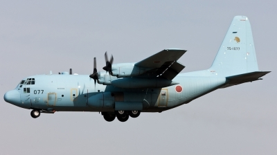 Photo ID 112380 by Andreas Zeitler - Flying-Wings. Japan Air Force Lockheed C 130H Hercules L 382, 75 1077