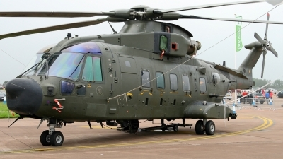 Photo ID 112385 by Maurice Kockro. UK Air Force Agusta Westland EH 101 Merlin HC3A Mk512, ZJ990